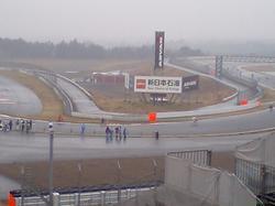 レース場面