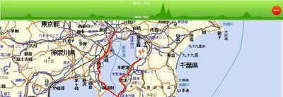 東京湾一周サイクリング